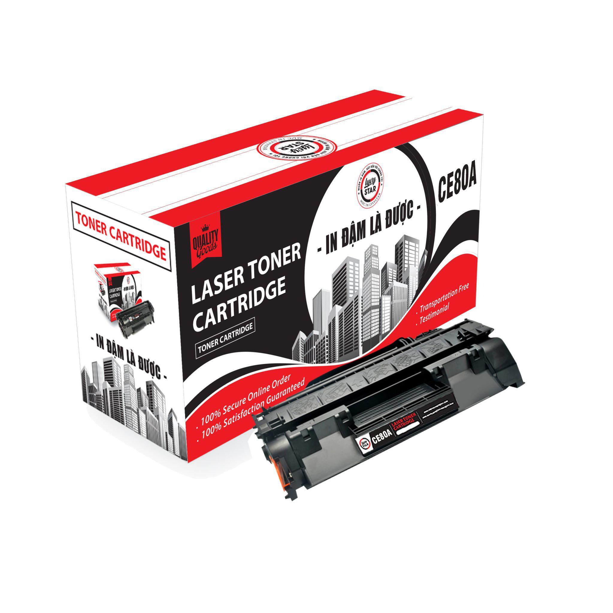 Hộp Mực in Lyvystar Laser CF280A Dùng cho máy in - Hàng Chính Hãng
