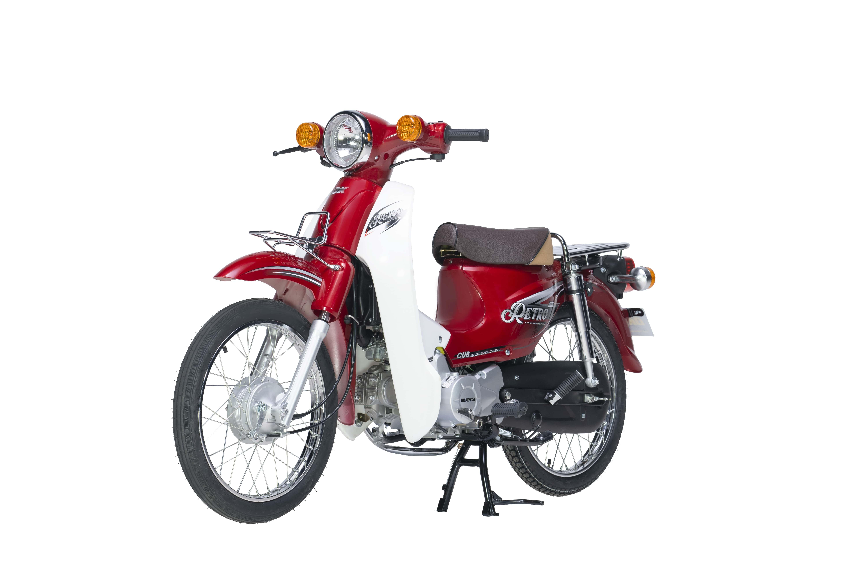 Xe Máy 50cc DK Retro - Màu Đỏ