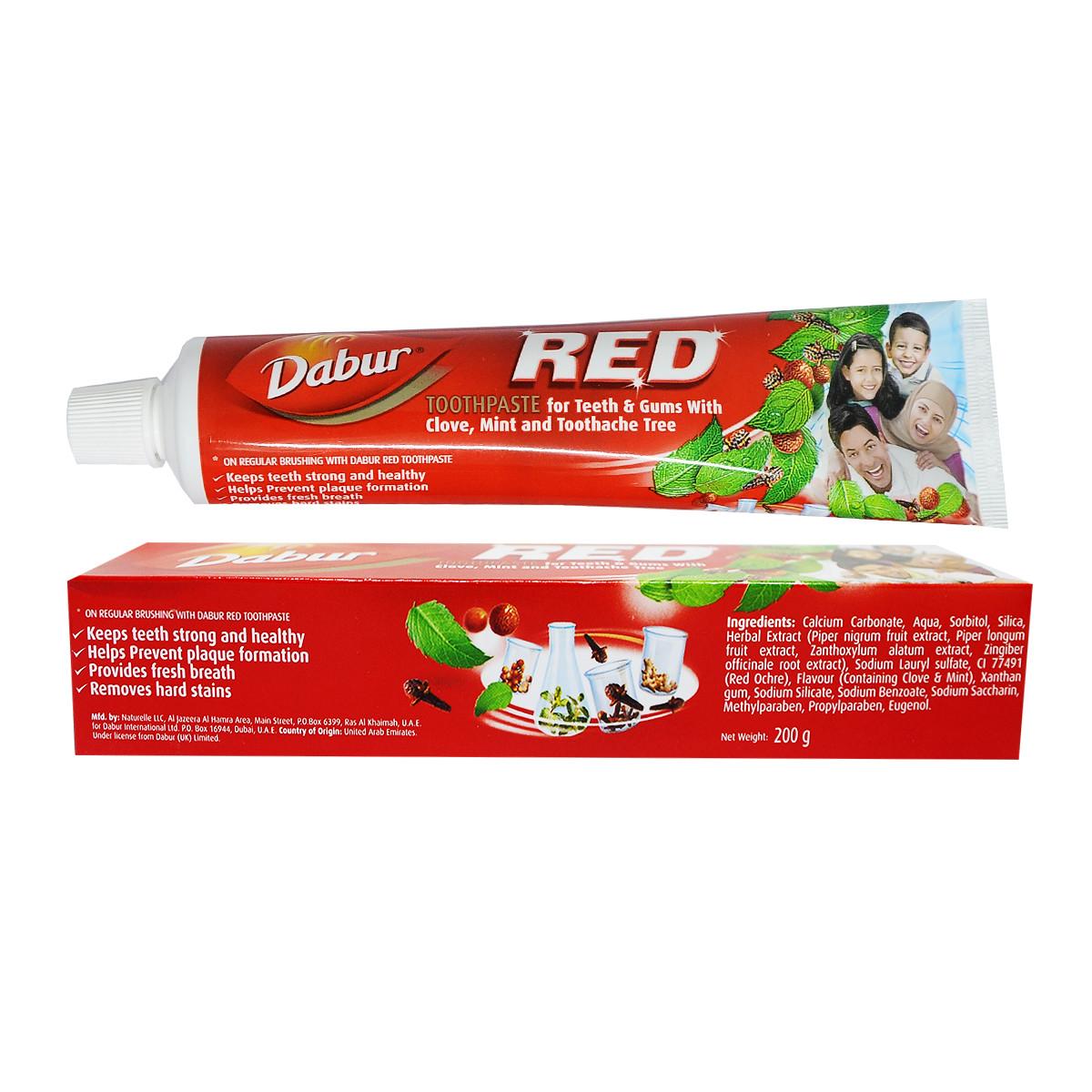 Kem đánh răng thảo dược Red Dabur Ấn Độ