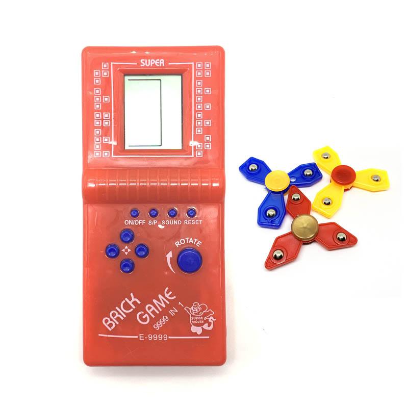 Máy chơi game kinh điển một thời - Tặng bộ 3 con quay Spinner