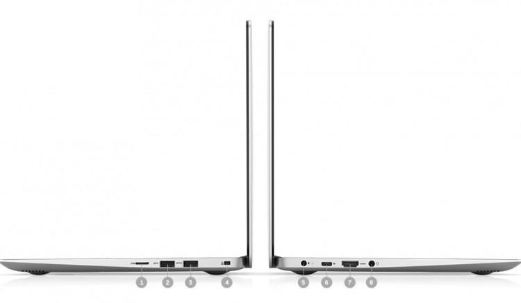 Dell Inspiron 5370-N3I3001W (Pink) kết nối