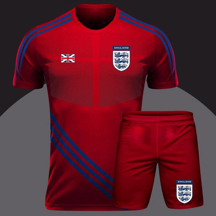 Áo Thể Thao Bóng Đá Độc Lạ Quốc Gia - Đội Tuyển Anh Đỏ