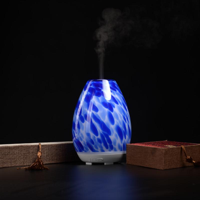 Máy khuếch tán tinh dầu siêu âm KE2076 | Hoa văn núi lửa huyền ảo | Hàng chính hãng cao cấp - Máy xông tinh dầu siêu âm
