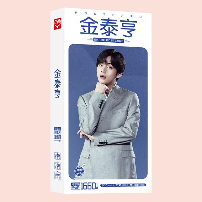 Hộp ảnh postcard V BTS