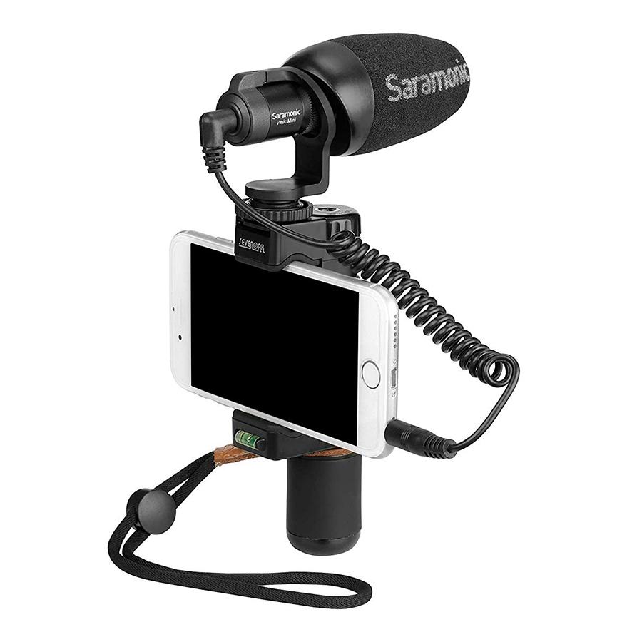 Micro Video Mini Saramonic Vmic Mini Cho Máy Ảnh DSLR Và Điện Thoại - Hàng Chính Hãng