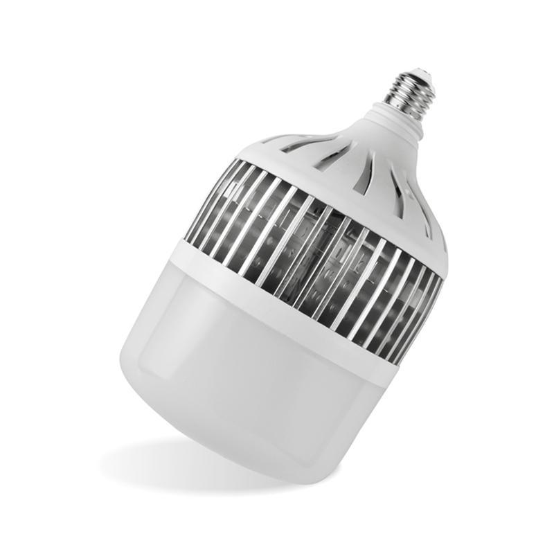 Bóng đèn LED hình trụ thân bọc nhôm siêu sáng,tiết kiệm điện, công suất cao 50W độ bền lâu dài, đuôi vít xoắn E27,tản nhiệt tốt, ánh sáng trắng trung thực không chói mắt, phù hợp với không gian rộng, sân vườn, hội trường_DBTN