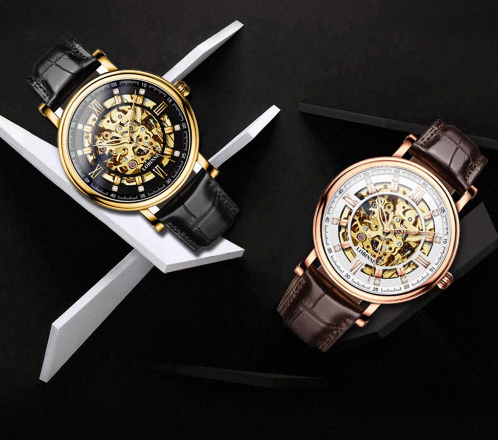 Đồng hồ nam chính hãng LOBINNI L9010-1