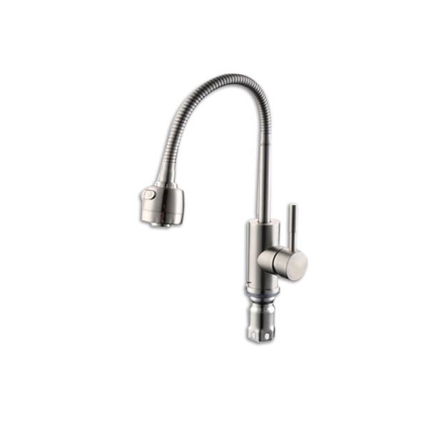 Vòi Rửa Bát Nóng Lạnh Inox304 TA-002WH