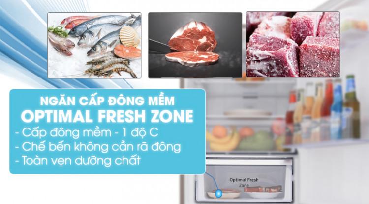 Ngăn đông mềm - Tủ lạnh Samsung Inverter 280 lít RB27N4010S8/SV