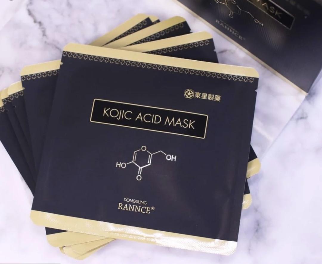 Mặt Nạ Dưỡng Trắng, Làm Giảm Thâm Nám Dongsung Rannce Kojic Acid Mask 28ml