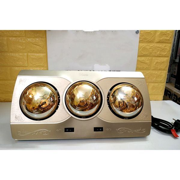 Đèn Sưởi Nhà Tắm 3 bóng Kottmann K3BQ - Hàng chính hãng