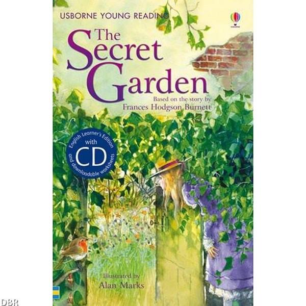 Usborne English Learners' Editions: The Secret Garden + CD
