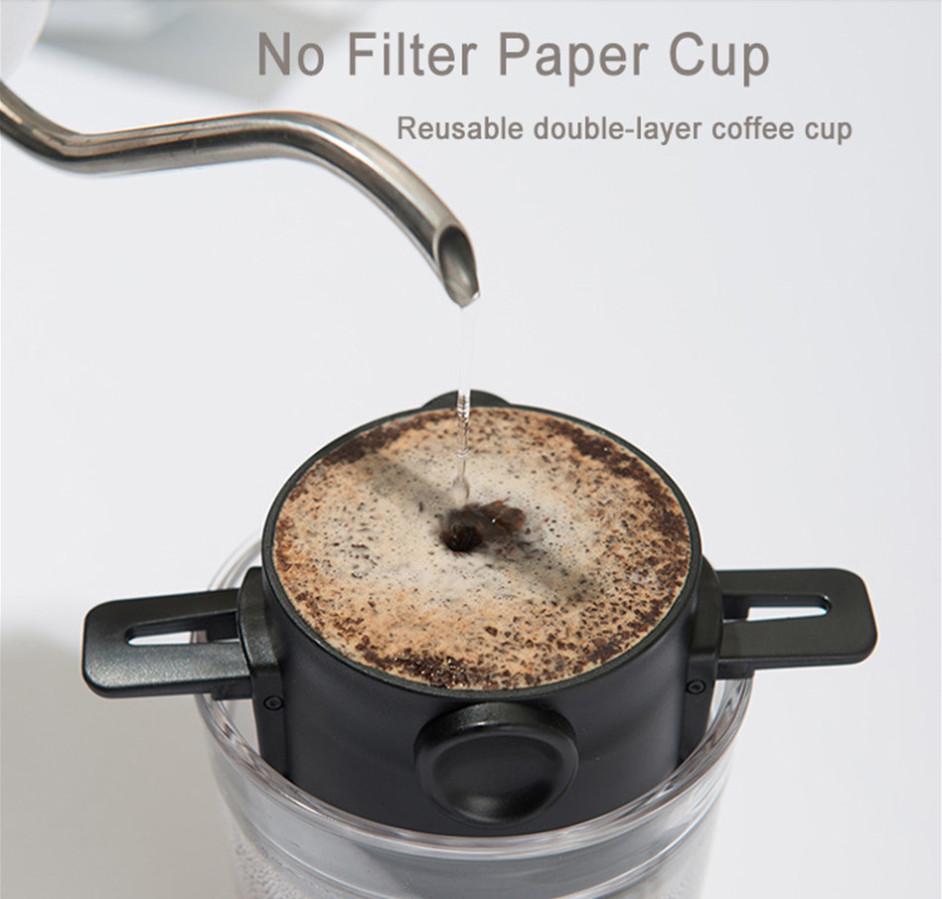 Bình pha cà phê nhanh 2 cup