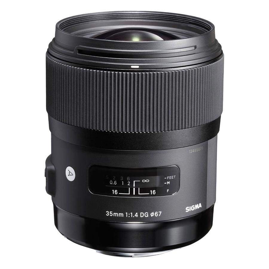Ống Kính Sigma 35 F/1.4 DG HSM Art For Canon - Hàng Chính Hãng