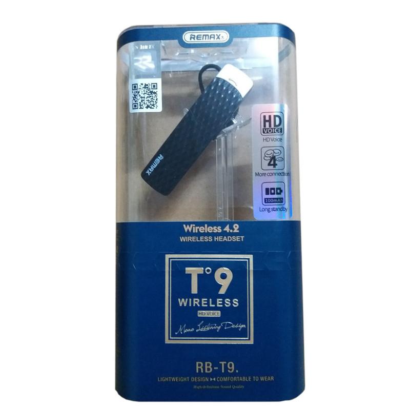 Tai nghe  Bluetooth version 4.2 Remax RB-T9 - Hàng Chính Hãng - Màu Ngẫu Nhiên