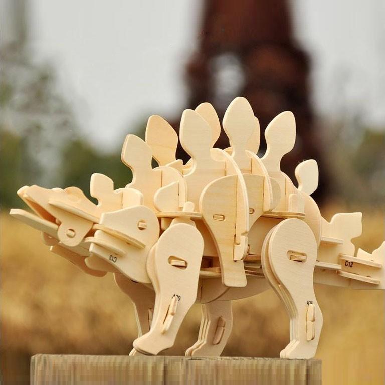 Mô hình Cơ động học Robotic Dinosaurs - Sound Control Stegosaurus D440