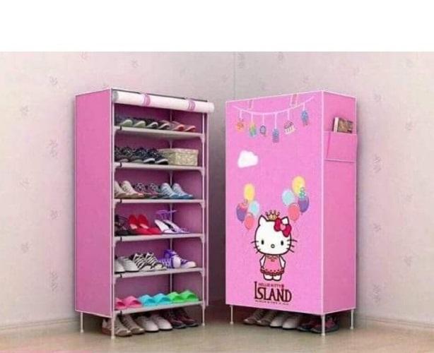 Tủ giày 3D 7 tầng 6 ngăn