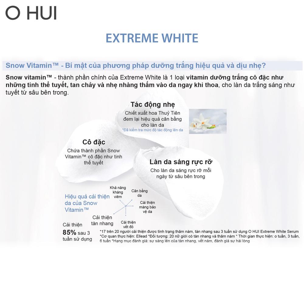 Nước Hoa Hồng OHUI Extreme White Skin Softener 150ml