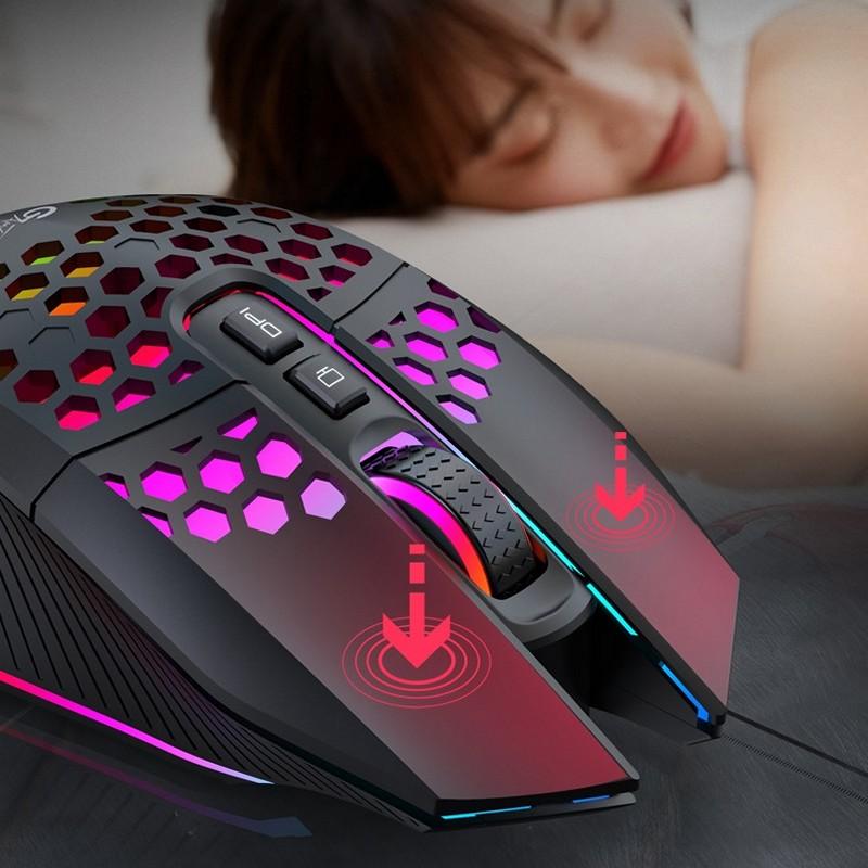 Chuột Không Dây Pin sạc GAME X801 Black - Chống ồn , Chống mỏi cổ tay - Hàng nhập khẩu
