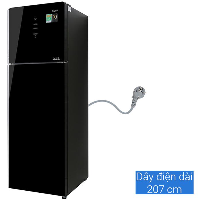 Tủ lạnh Aqua Inverter 312L AQR-T359MA(GB) - Chỉ Giao tại HCM