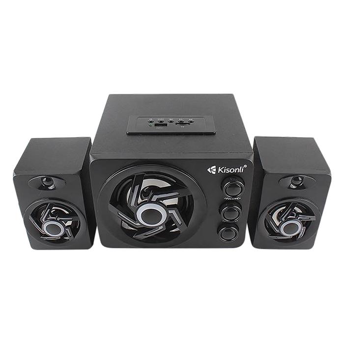 Loa Vi Tính Kisonli TM-8000A LED-RGB - Hàng Chính Hãng