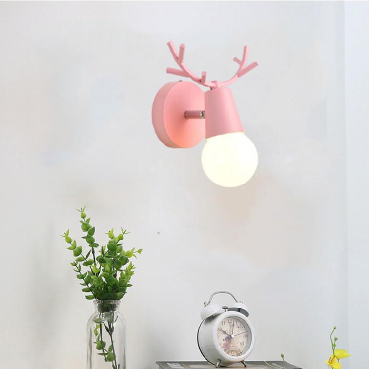 Đèn tường TERAY hình đầu hươu độc đáo, sáng tạo - kèm bóng LED chuyên dụng.