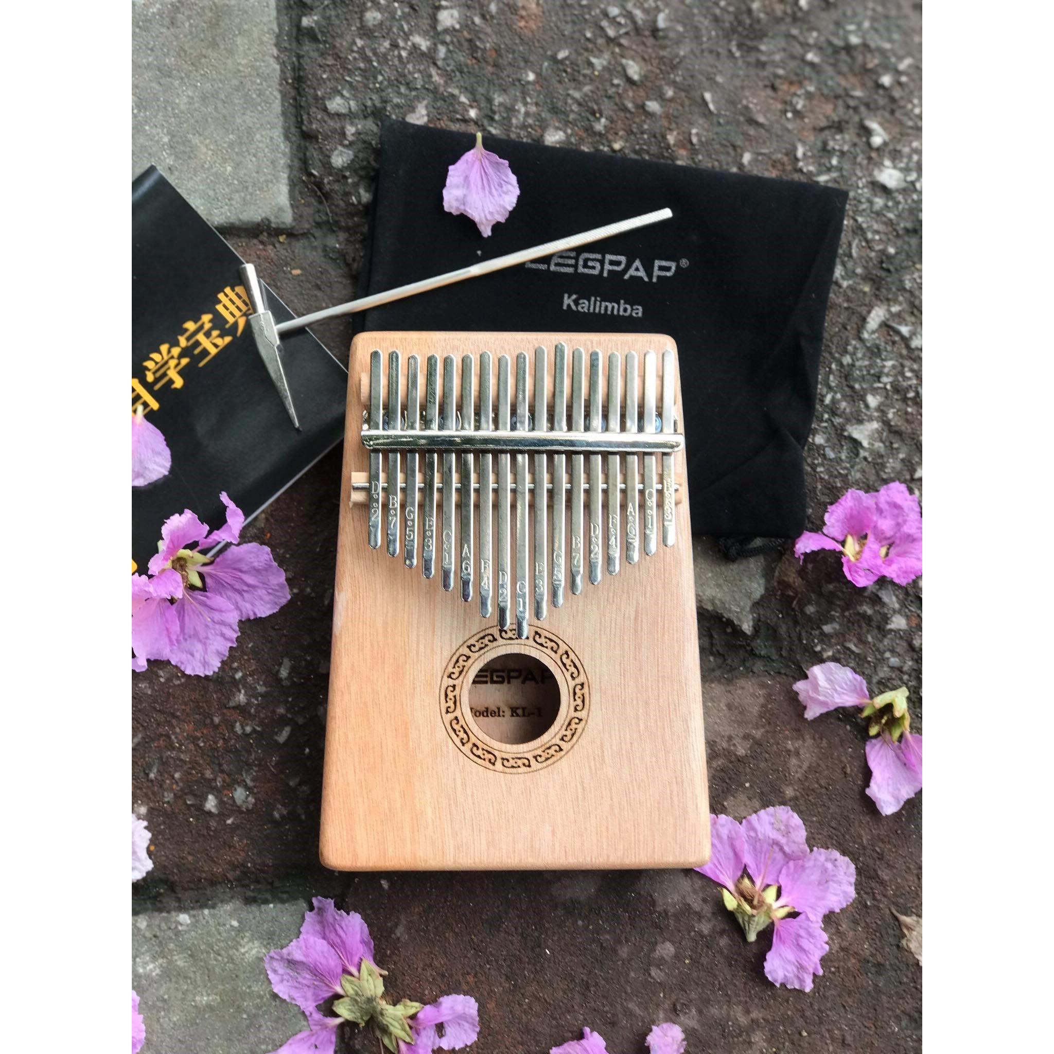 Đàn Kalimba 17 phím tặng túi & búa (SOL.G)