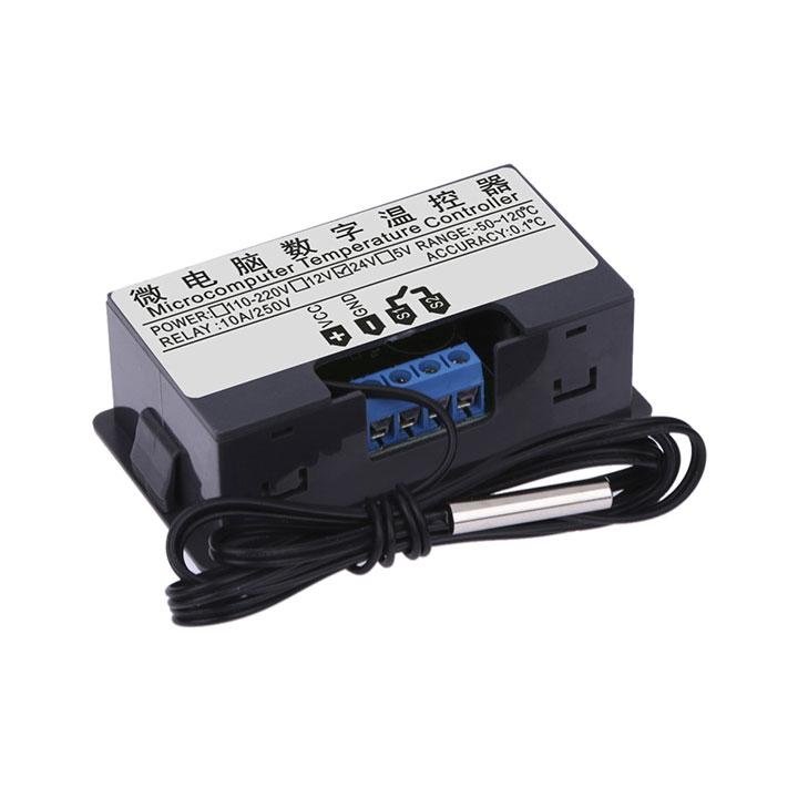 Bộ Điều Khiển, Mạch Khống Chế Nhiệt Độ Kỹ Thuật Số W3230 12VDC / 220VAC Sử Dụng Cảm Biến Nhiệt Độ Đóng Cắt Relay