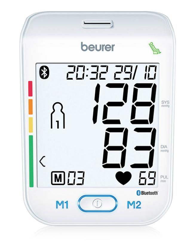 Máy đo huyết áp công nghệ bluetooth Beurer BM77