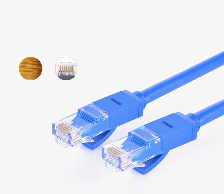 Dây mạng bấm sẵn 2 đầu Cat6 UTP Patch Cords dài 15M UGREEN NW102 11207 - Hàng chính hãng