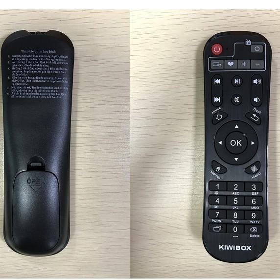 Điều khiển Box Hãng Kiwi Dùng cho Các loại Box hãng Kiwibox -Hàng Chính Hãng