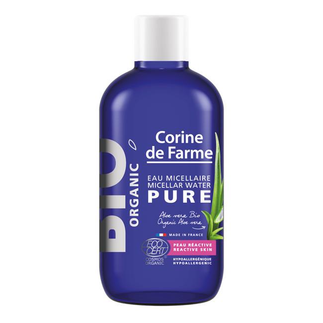 Nước tẩy trang hữu cơ cho da nhạy cảm BIO Organic Micellar Water Pure Corine de Farme 100ml
