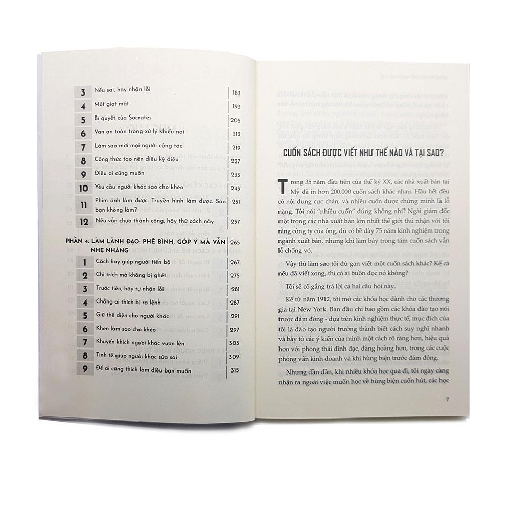 Sách - Nghệ thuật đối nhân xử thế - Dale Carnegie