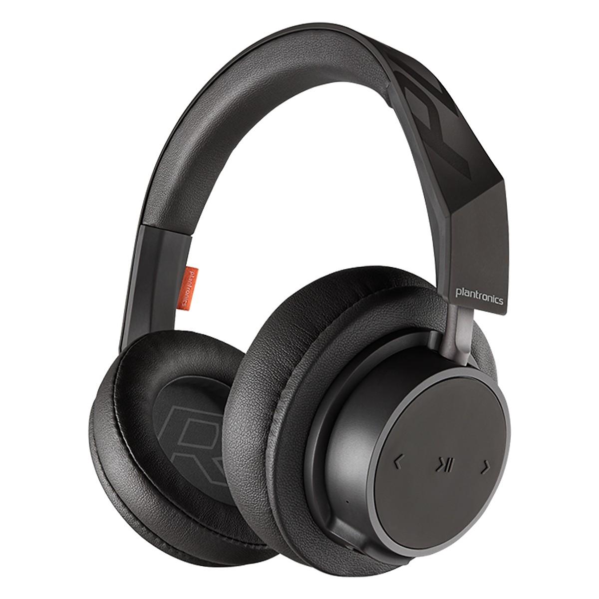 Tai Nghe Bluetooth Chụp Tai Cách Âm Over-ear Plantronics BACKBEAT GO 600 (đen) - Hàng nhập khẩu