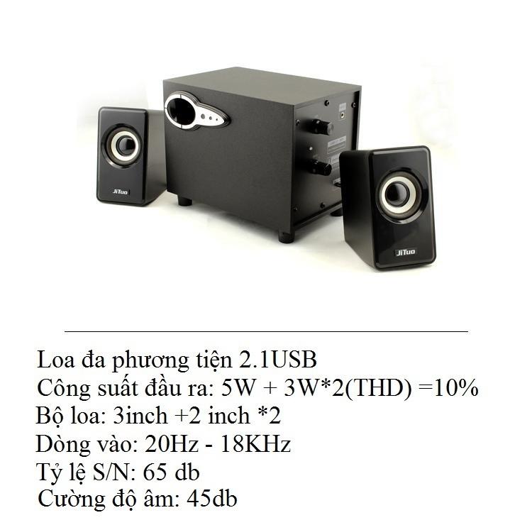 Bộ loa máy tính  JT2806 - Hàng nhập khẩu