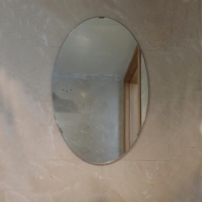 Gương thiết bị vệ sinh hình Oval