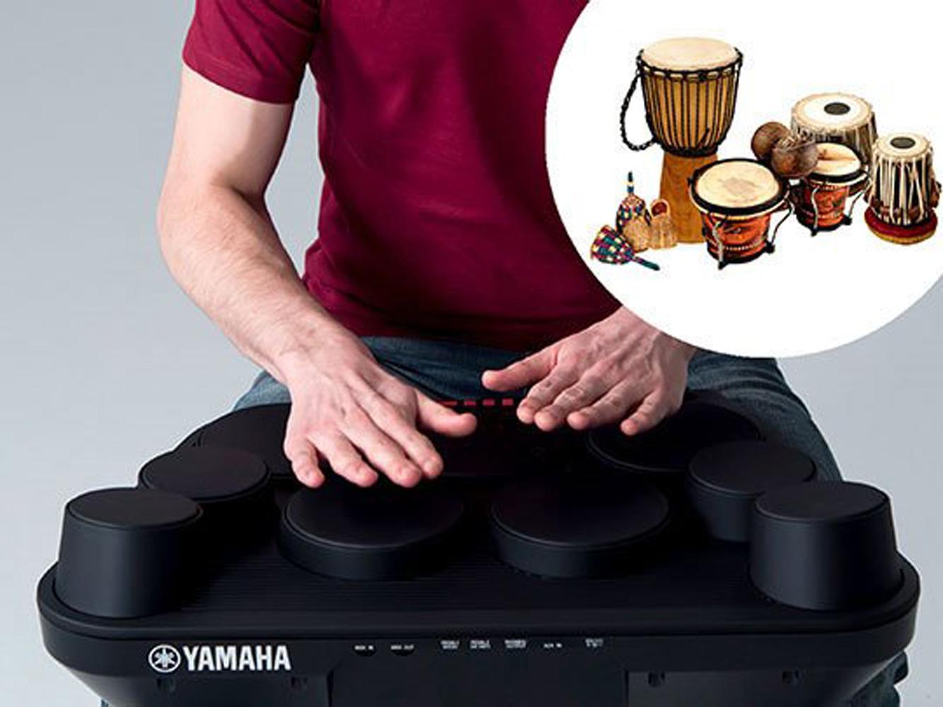 Bộ Trống điện tử Yamaha DD-75 (Electronic Portable Digital Drum DD75 - Có tem chống hàng giả Bộ CA - Kèm Nguồn, Dùi Trống, Pedal, Pick)
