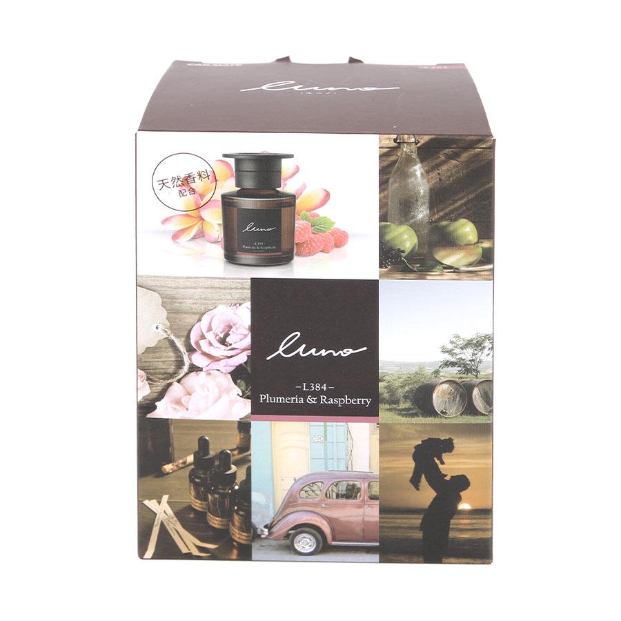 Nước hoa ô tô CARMATE LUNO LIQUID L384 Plumeria & Raspberry 80ml