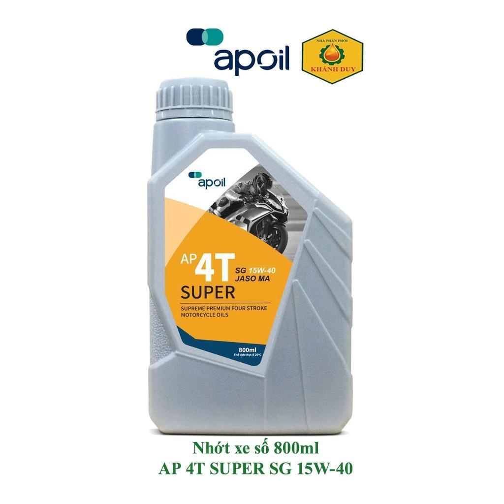 Dầu nhớt xe số - Saigonpetro - APOIL 4T SUPER SG 20W-50