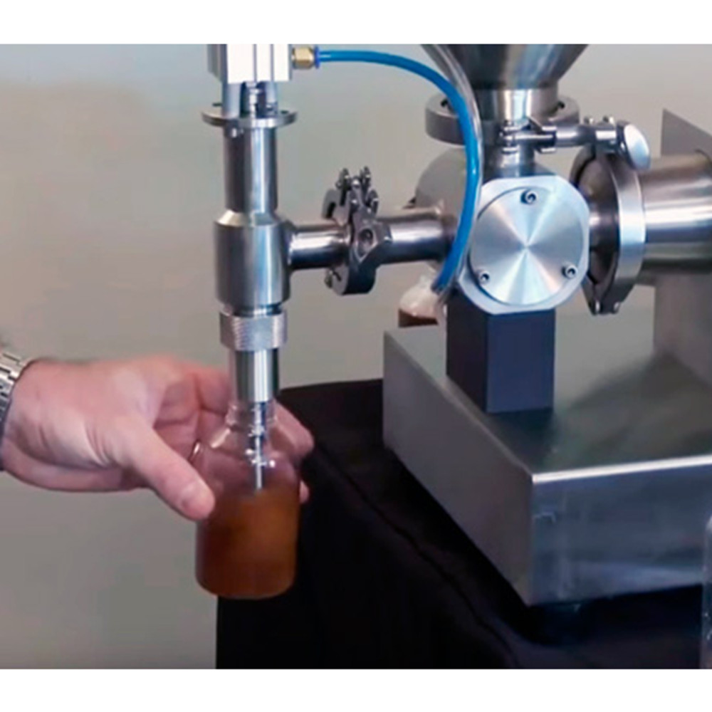 Máy chiết rót 1 vòi chuyên cho hóa mỹ phẩm, sốt kem, đồ uống, các dung dịch chất lỏng ... (PPF-500T)