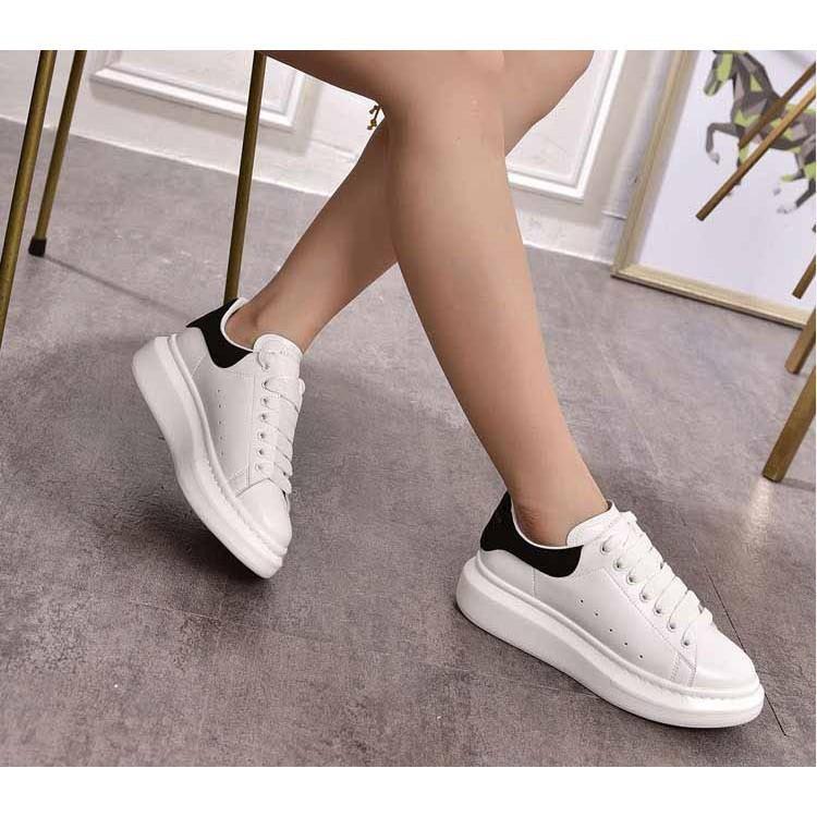 Giày thể thao nam nữ đế độn MC sneaker giày trắng ROZMODA