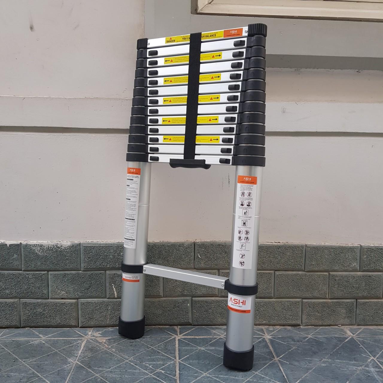 Thang rút đơn 4,4m-Chính hãng Ashi AR44