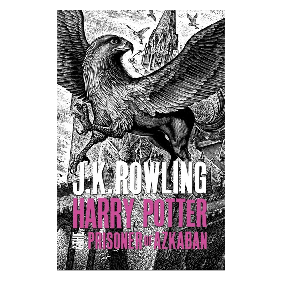Harry Potter Part 3: Harry Potter And The Prisoner Of Azkaban (Hardback) (Harry Potter và tù nhân ngục Azkaban) (English Book)