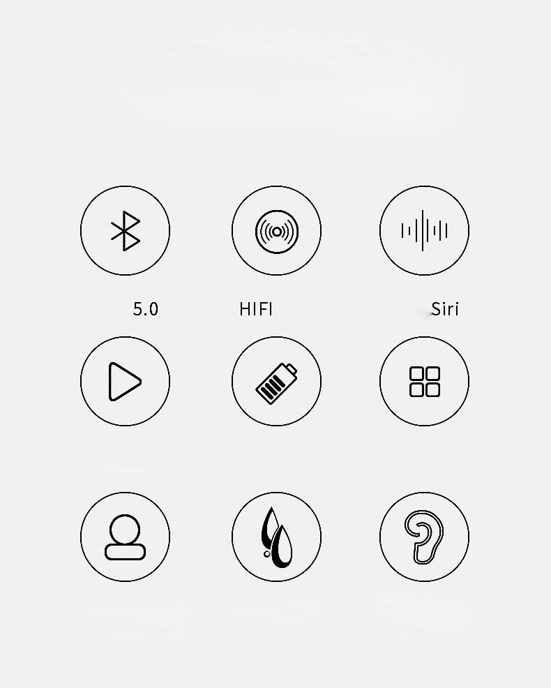 Tai nghe bluetooth Air Pro công nghệ 5.0