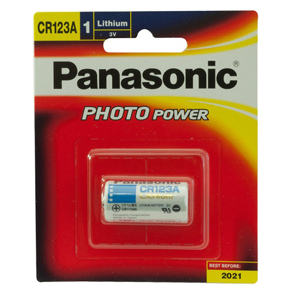 Pin CR123A Panasonic_Hàng Chính Hãng