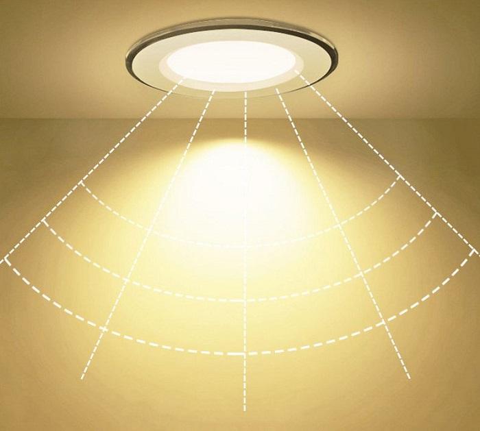 Bộ 3 Đèn LED âm trần đổi màu 5w, đèn trang trí phòng ngủ hàng chính hãng