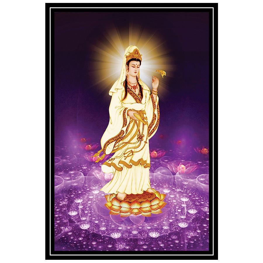 Tranh Phật Giáo Quan Thế Âm Bồ Tát 2313