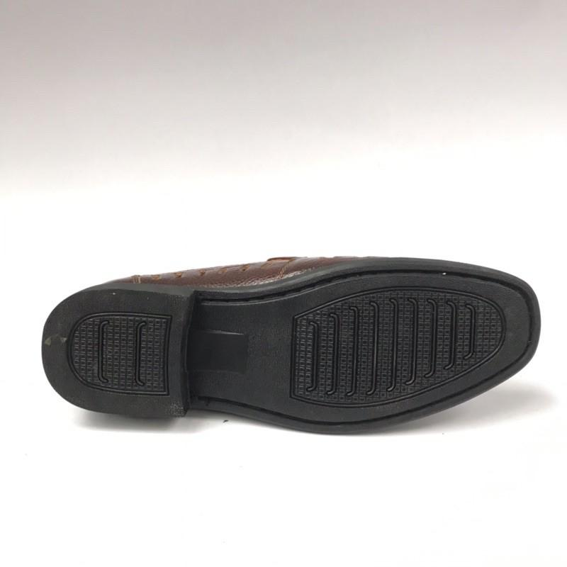 Giày da nam trung niên da bò mềm bảo hành 12 tháng