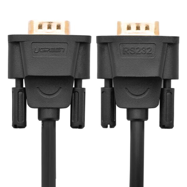 Cáp Chuyển Đổi Ugreen 20146 USB 2.0 Sang RS232 (2m) - Hàng Chính Hãng