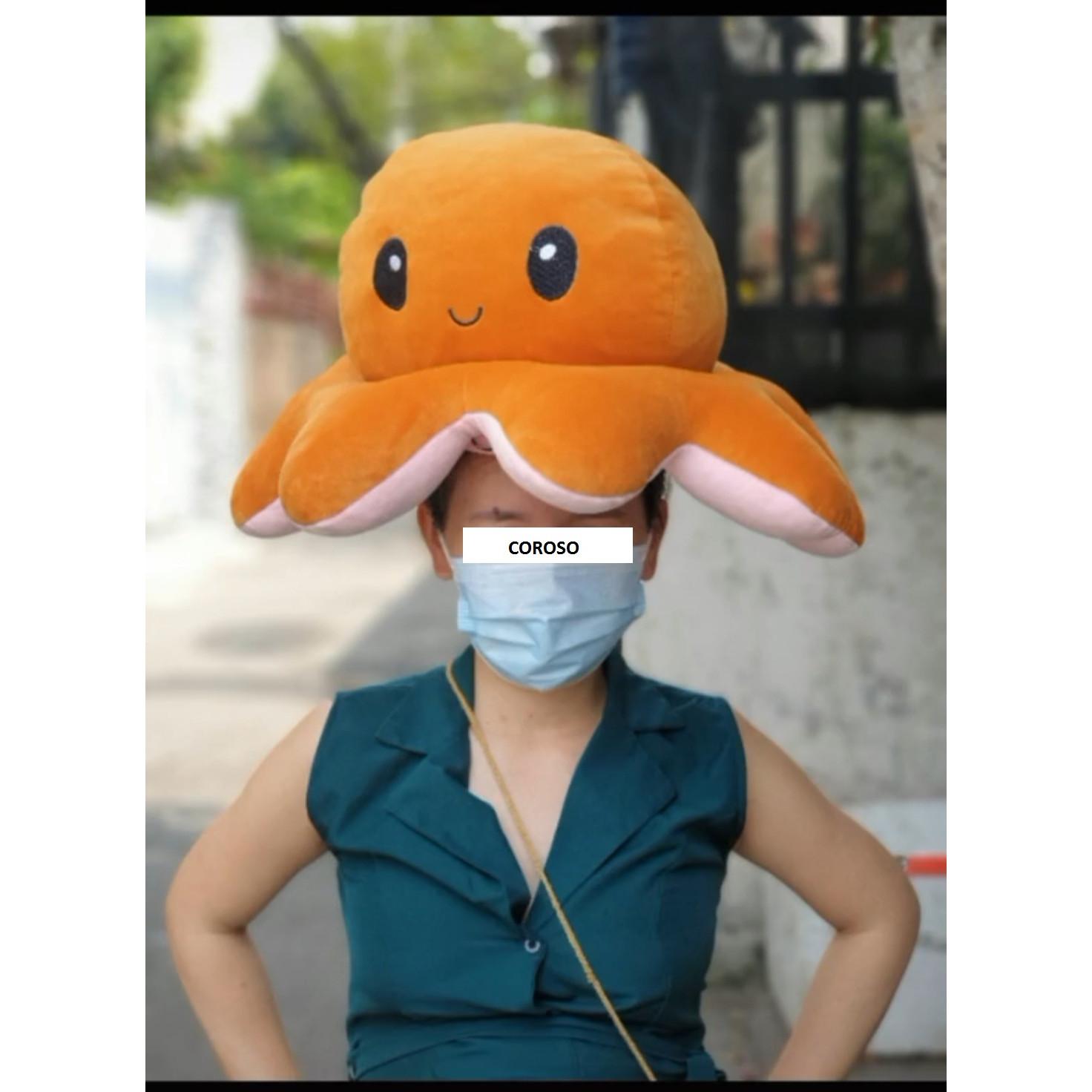 bạch tuộc cảm xúc size lớn 50 cm (Màu Ngẫu Nhiên)